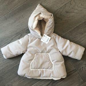 ZARA baby Girl Winter Jacket
